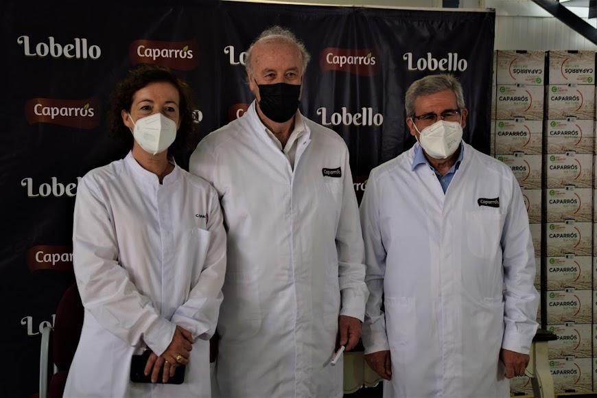 Del Bosque es embajador del tomate cherry pera Lobello.