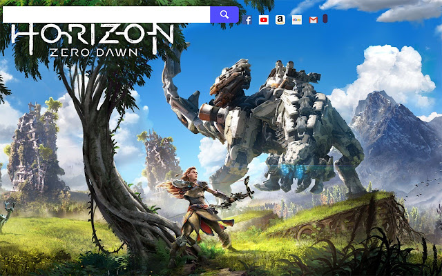 Horizon: Zero Dawn HD Wallpapers New Tab.