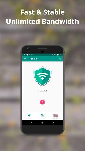 Surf VPN - Best Free Unlimited Proxy screenshot 5