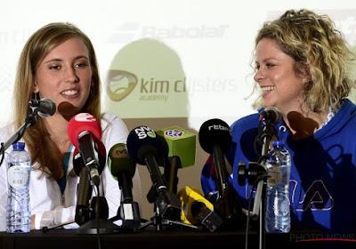 Elise Mertens gaat Steffi Graf afhalen in Zhuhai