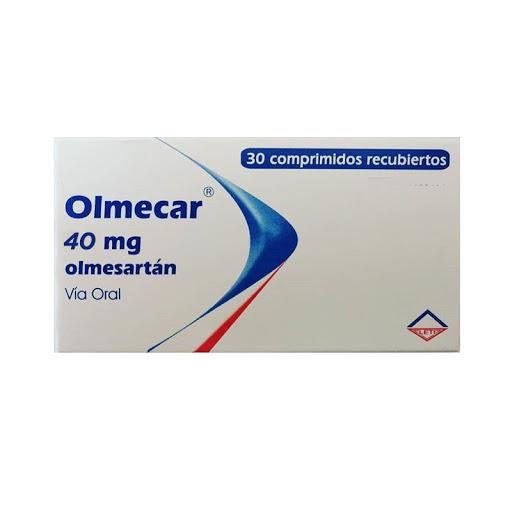 Olmesartán Olmecar 40Mg 30 Comprimidos Leti 40 Mg 30 Comprimidos