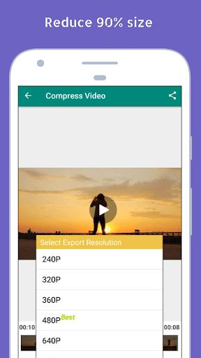 Video Converter Video Compressor Video to MP3 3.9.7 screenshots 2