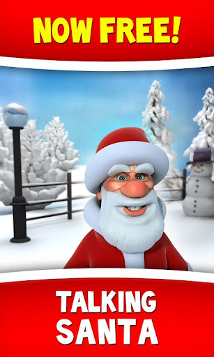Talking Santa screenshot 1