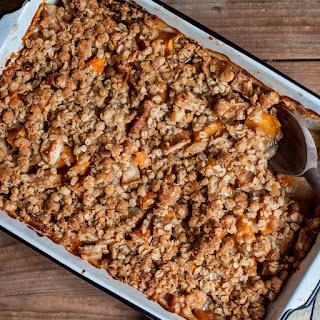 Apple and Pumpkin Ginger Crisp recipe | Epicurious.com.