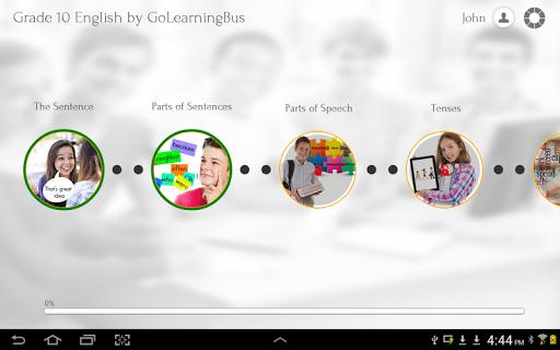 【免費書籍App】Grade 10 English-APP點子