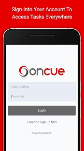 Oncue GTD App- screenshot thumbnail