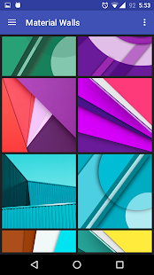 Material Wallpapers(Android M) Screenshot