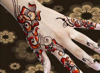 Mehndi Hands With Mobile : Beautiful mehndi designs apps on google play