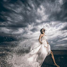 by Charles Mawa - Digital Art People ( bridal, charlesmawa, digital art, women, lapindo )