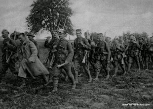 Photo: Soldiers In The Wiltshire Regiment With Trophies From The Captured German Trenches Of The First And Second Hindenburg Lines Near Cambrai