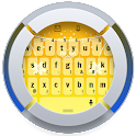 Orange Flowers Keyboard icon