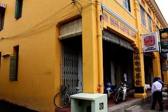 Photo: Year 2 Day 106 -  Vibrant Yellow Shop