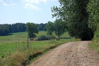 Photo: Droga z Gajd (Goyden) do Witoszewa (Kunzendorf)