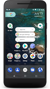 Nougat Launcher: Pixel Edition Screenshot