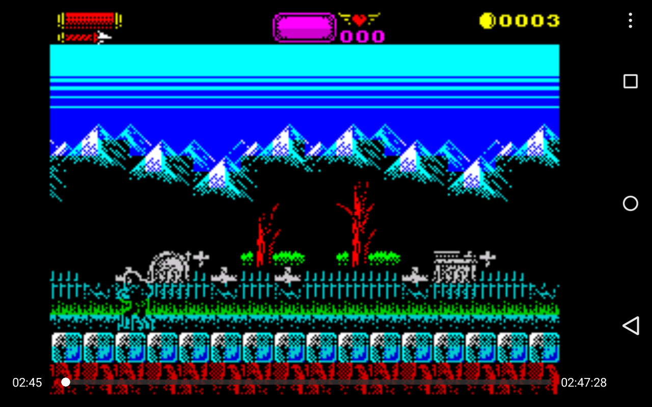 USP - ZX Spectrum Emulator screenshots