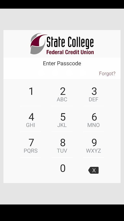 SCFCU Mobile Banking- screenshot