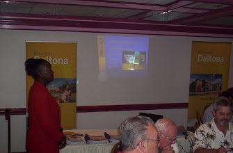 Photo: Sally Sherman, Economic Development Manager for the City of Deltona - July1, 2008