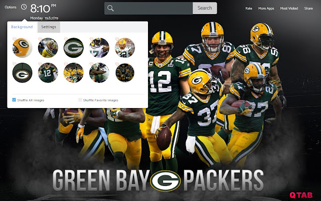 NFL Green Bay Packers Wallpapers Theme