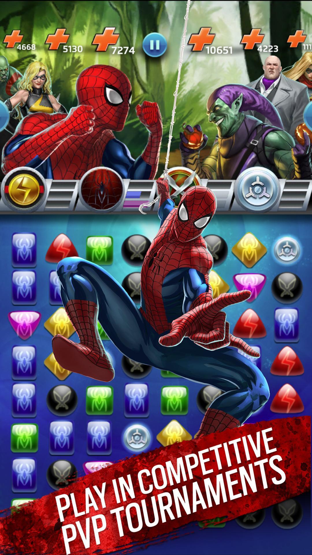Marvel Puzzle Quest screenshot #9