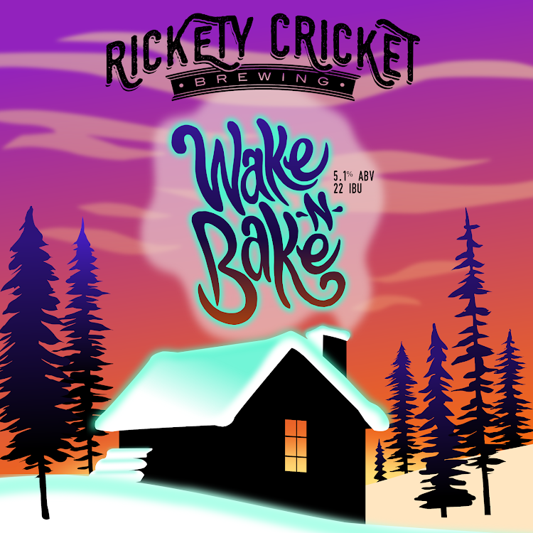 Logo of Rickety Cricket Brewing/Echo Brewing Wake and Bake Coffee Porter