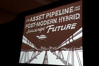 Photo: DHH's keynote title