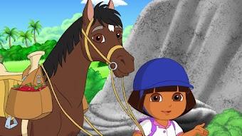 Doras und Sparkys Pferde-Abenteuer