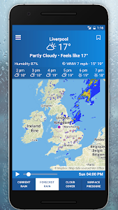 UK Weather Maps - Met Office screenshot 4