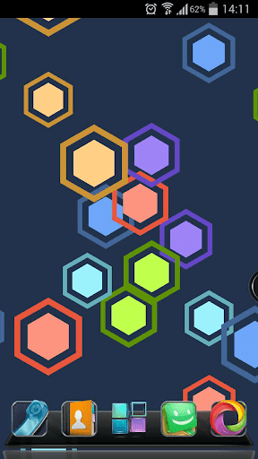 Next Hexagon 3D Live Wallpaper