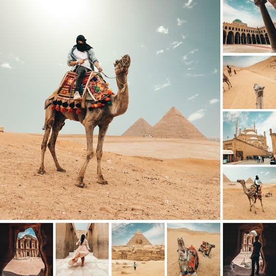 Desert Collage - Instagram Post Template