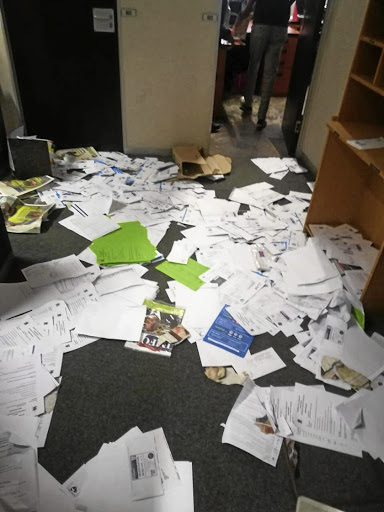 Samwu trashed Madibeng offices last week.