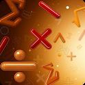 Mathstronaut = master maths  + have fun 🔢 icon