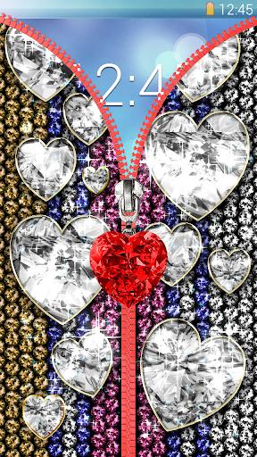 Diamond lock screen. ss3