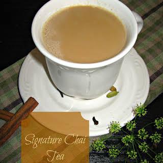 Signature Chai Tea.