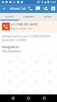 Screenshot of MightyCall Mobile