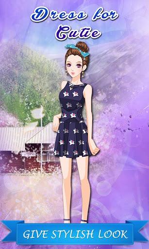 かわいこちゃんのドレス