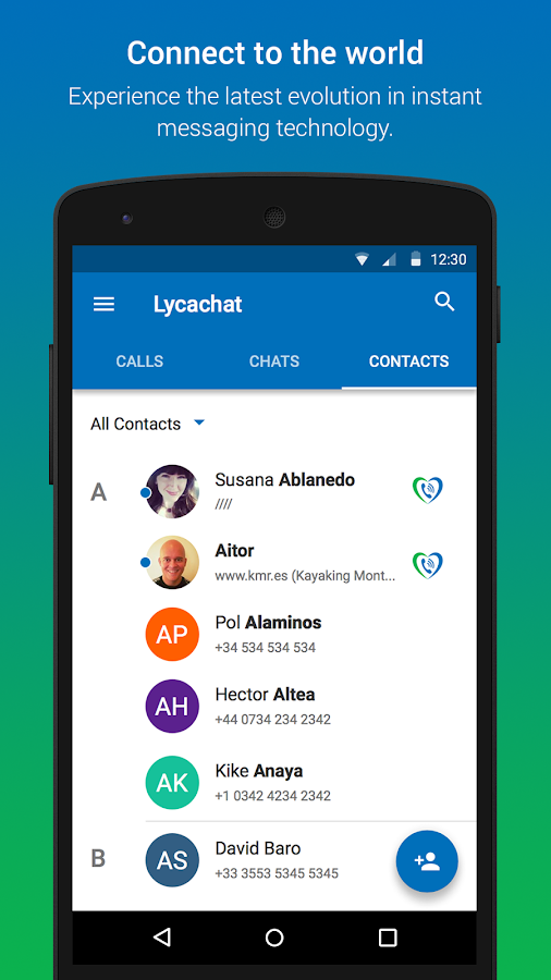 Lycachat - Free texts, Calls- screenshot