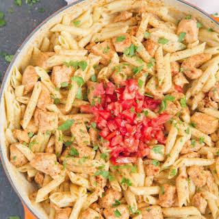 Creamy Cajun Chicken Pasta.