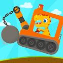 Dinosaur Digger 3 - Truck Simulator Games for kids icon