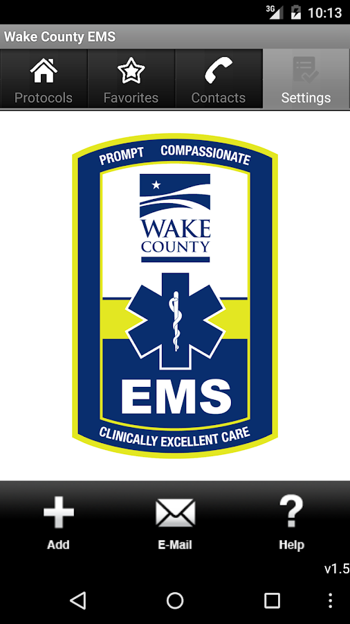 Wake County EMS- screenshot