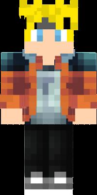 Boruto Nova Skin - Skins para minecraft orochimaru