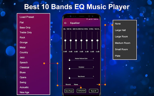 MP3 Music Player 2019 - 10 Bands Equalizer Player 2.5.5 screenshots 2