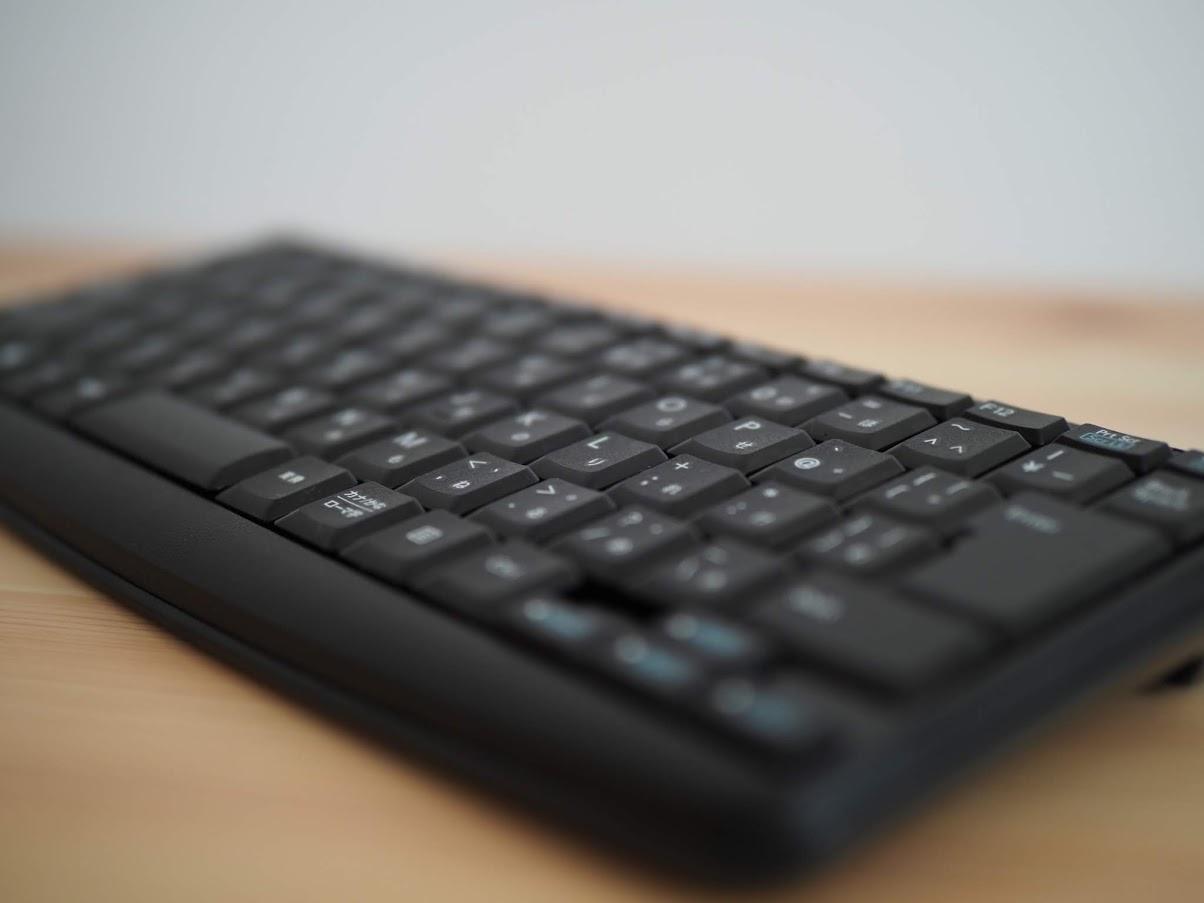 キーボードの文字盤