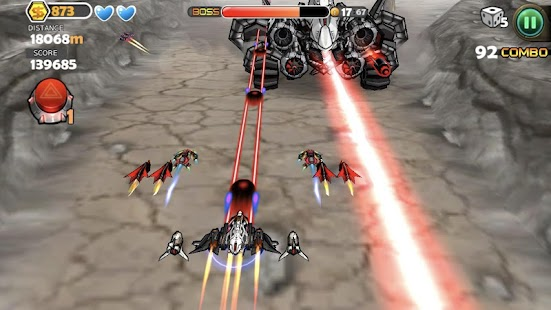 Flight Shooter - Mysterious Asteroids Screenshot