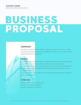 Contrast Proposal - Business Proposal item