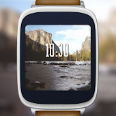 Yosemite motion watch face