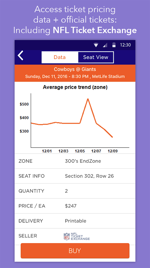 TicketIQ: Cheap Event Tickets- screenshot