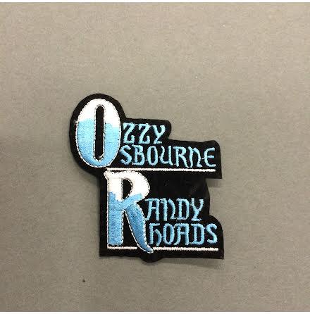 Ozzy Osbourne - Randy Roads - Tygmärke