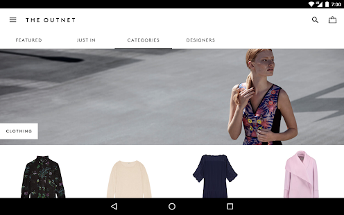 THE OUTNET- screenshot thumbnail
