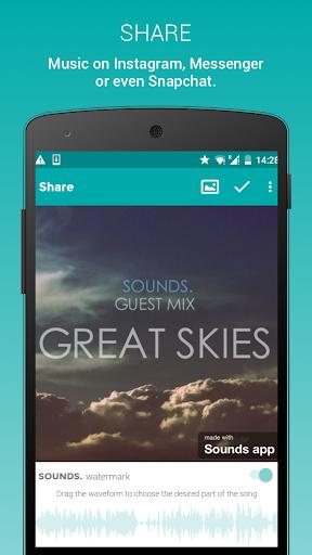 Sounds – 面向Instagram的音樂