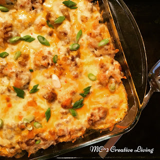 Mexican Ground Beef Style Casserole Recipe